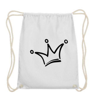 Funny Royal Comic Crown - black