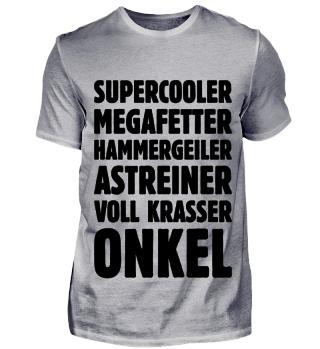 Supercooler Megafetter … Onkel (Black)