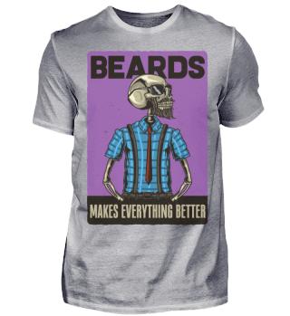 Beards Ramirez Herren T-Shirt Kurzarm