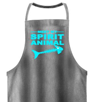 Meet Spirit Animal - Dead Fish - türkis