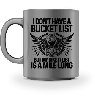 My bike it list - a mile long - Gift