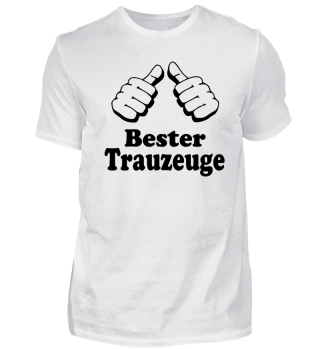 Bester Trauzeuge