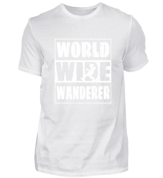 World Wide Wanderer Cool Hiking Gift