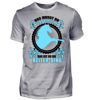 Reiter-Ding Reiter Geschenk