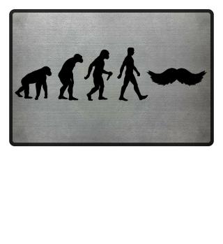 Evolution Of Humans - Mustache I