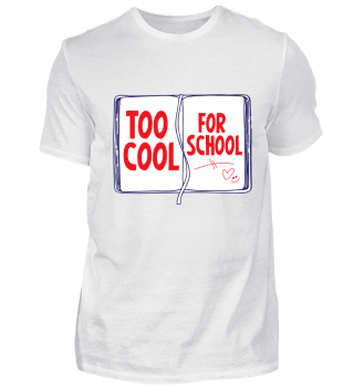 T-shirt too cool for the school