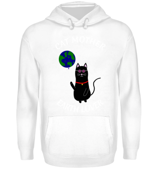 MOTHERS DAY CAT MOM MOTHER GIFT EARTH