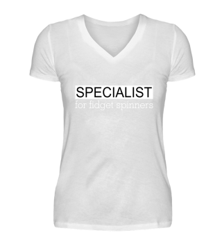 Specialist for FIDGET SPINNERS - white