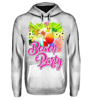 Beachparty-Shirt für zB Mallorca-Urlaub