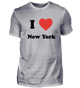 I Love New York Big Apple USA
