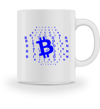 GIFT- BITCOIN CRYPTO MONEY BLUE