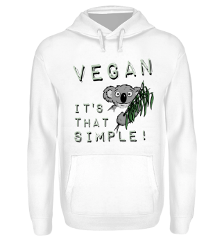 Koala Vegan ist so einfach simple