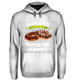 Geschenk Donuts make me happy