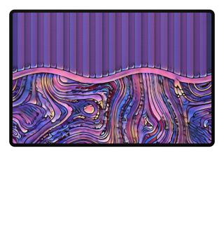 ♥ Abstract Art Formulation Stripes I