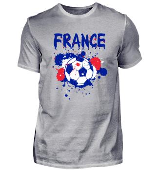 Frankreich Fussball Fussball Shirt Fan Meister Geschenk