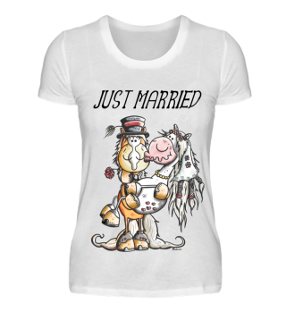 Just Married Pferde