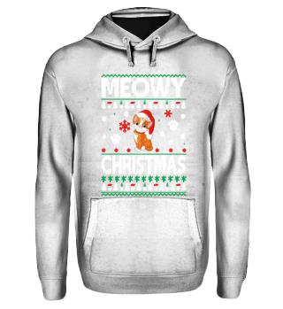 Hoodie - Merry Christmas Cat | Geschenk
