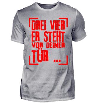 FREDDY Gruppen Shirt - DREI VIER