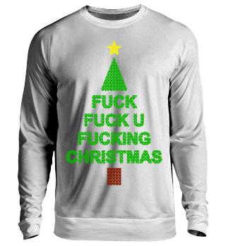 Fuck you Christmas lustiges Weihnachten