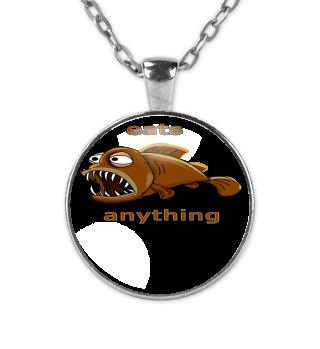 Eats Anything - Fish Motive - Gift Idea