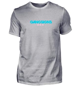 Gangsigns Shirt Rose