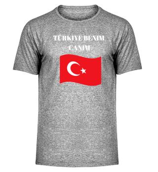 Türkiye Benim Canim Türkei T- Shirt