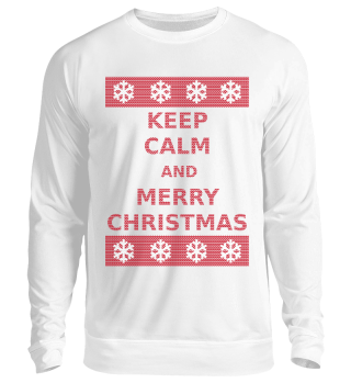 Keep Calm And Merry Christmas Sweater