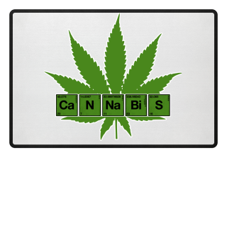 Cannabis Periodic Table Funny Science