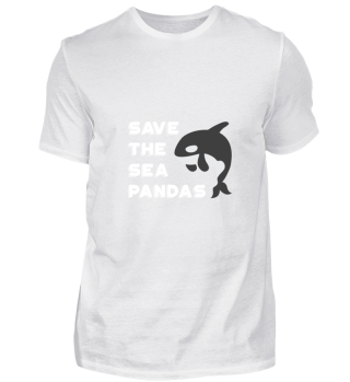 Sea Panda gift for Orca Whale Lovers