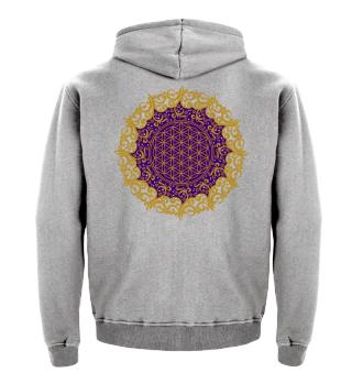 ♥ FLOWER OF LIFE - Vintage Mandala II