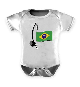★ Capoeira Berimbau Brazilian Flag 5