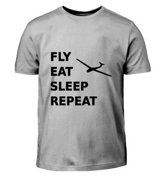 fly eat sleep repeat