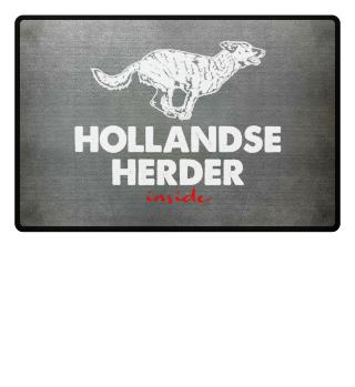 Hollandse Herder inside - Fußmatte