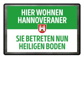 Hier wohnen Hannoveraner..