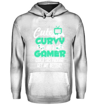 Cute curvy and a Gamer