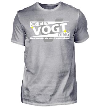 VOGT DING | Namenshirts