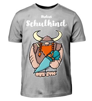 smietz T-Shirt - Schulkind Wikinger 1