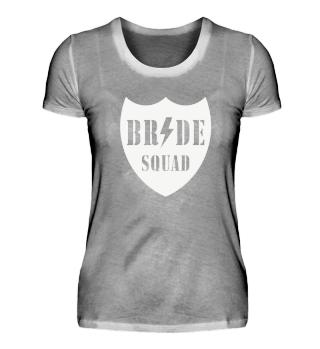 Bride Squad (Team Braut / JGA / Junggesellinnenabschied) White