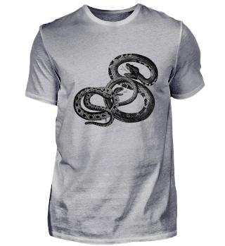 Schlangen Tattoo Tribal Reptilien Zoo
