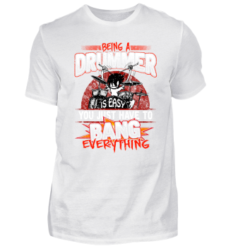 Being A Drummer Is Easy - Drums Pun Bang