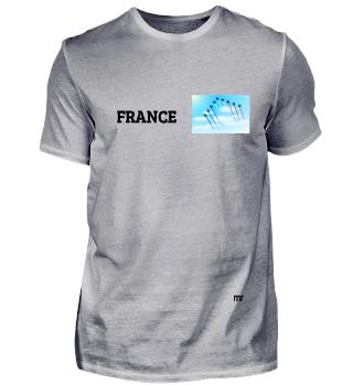 frankreich, france, fleiger, himmel