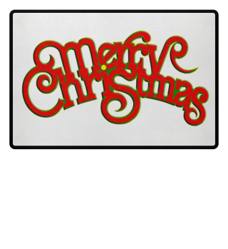 Merry Christmas - Vintage Retro Font 1