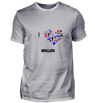 I love GRILLEN. Tolle Geschenkidee.