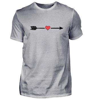 Arrow & Heart Love