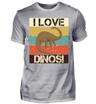 Streifen & Dinosaurier - I LOVE DINOS II