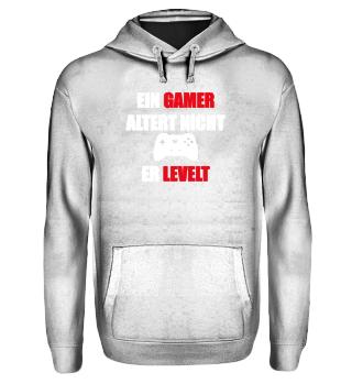 Ein Gamer Altert nicht er Levelt