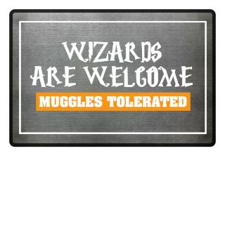 Harrys Dormat - Wizards welcome