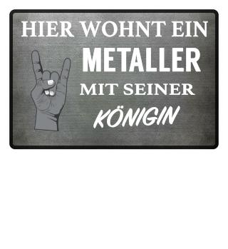 METALLER KÖNIGIN - FUSSMATTE