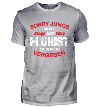 SORRY JUNGS, DIESER FLORIST IST VERGEBEN