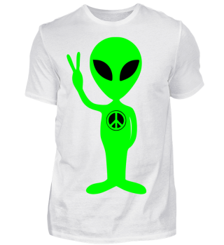 Just an Alien - PEACE sign